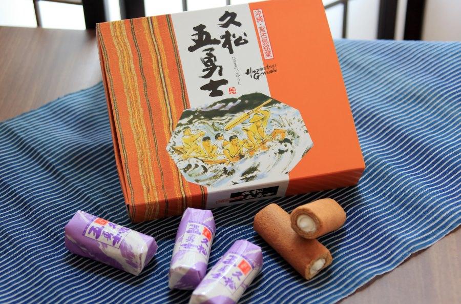 宮古島を代表する銘菓「久松五勇士」